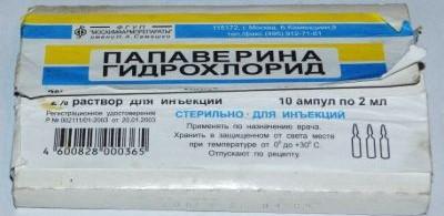 Папаверин для собак инструкция по применению уколы